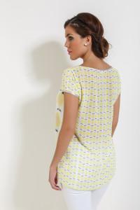 Espalda camiseta limones